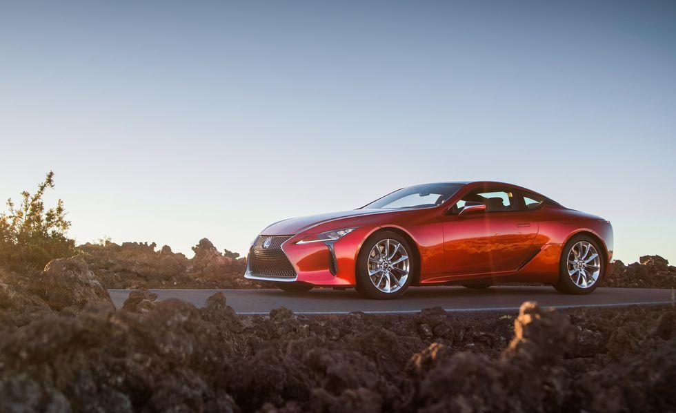 Lexus LC (Images: Caranddriver)